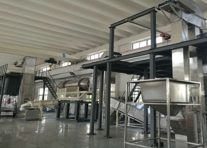 Stainless Steel Washing Powder Production Line Strong Production Flexibility
